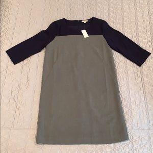 Navy & Gray dress